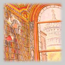 Pat Oliphant: TheLibrary of Congress, 1998
