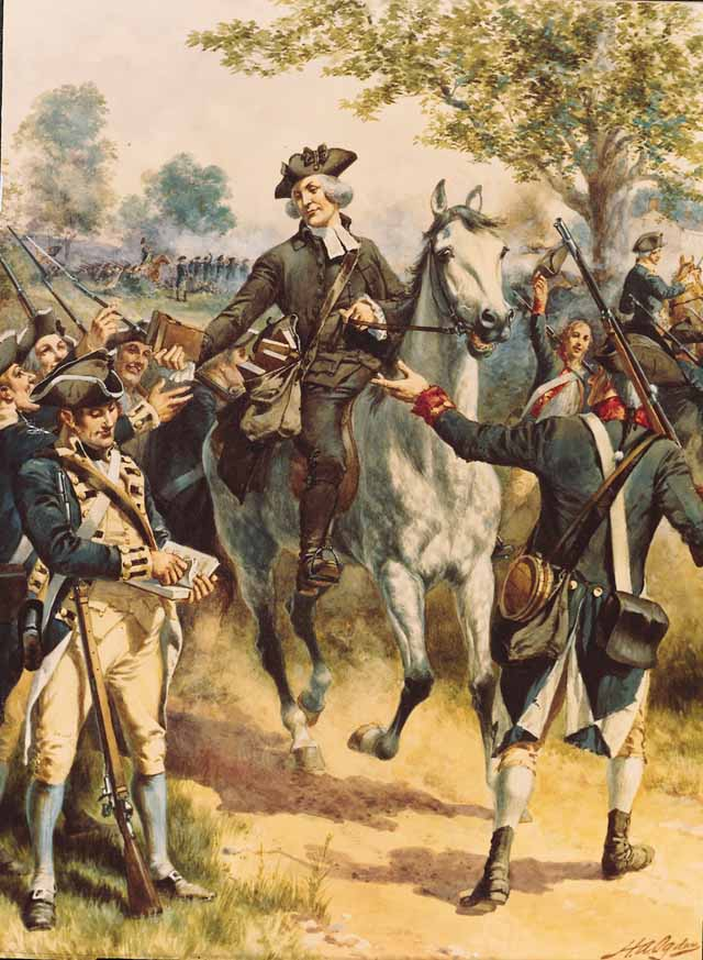 account of the events leading to the american revolution