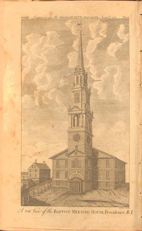 Rhode Island Colony Religious History