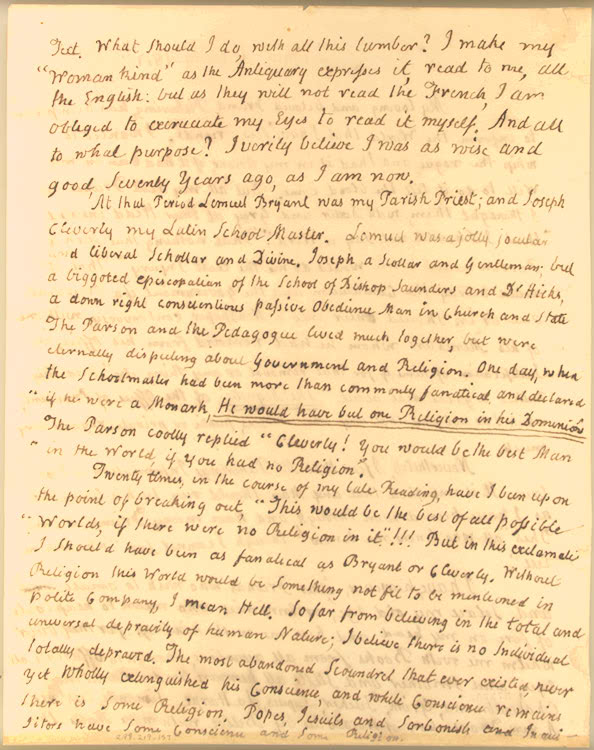 Thomas Jefferson John Adams Letters