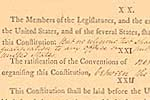 Constitution of the United States (William Jackson Copy), Committee of Detail report
