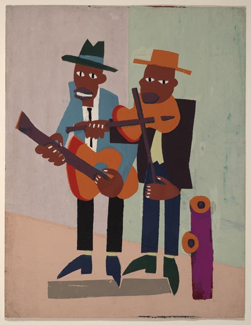Street Musicians (Imagination): American Treasures of the Library ...