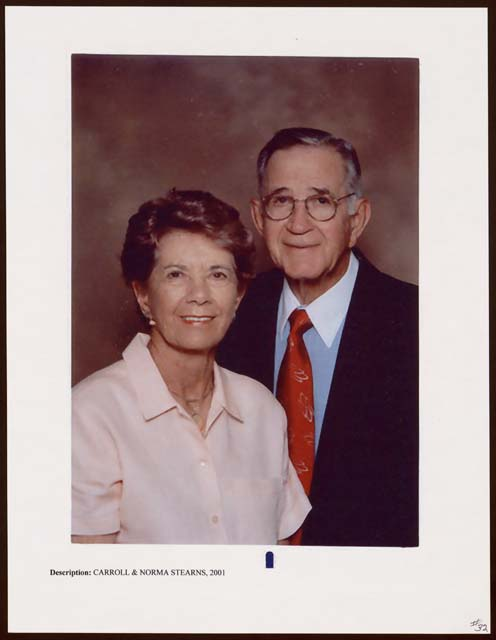[Norma Stearns and Carroll A. ...