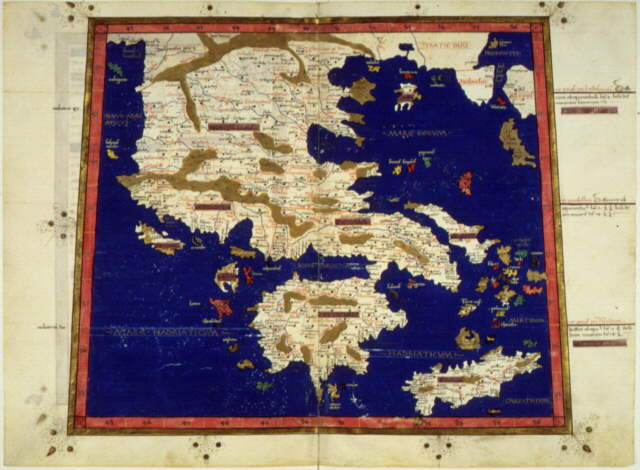 maps of greece and rome. This map of Greece and