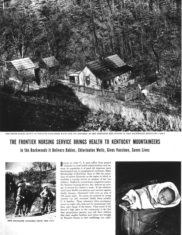 Life magazine article on Frontier Nursing Service
