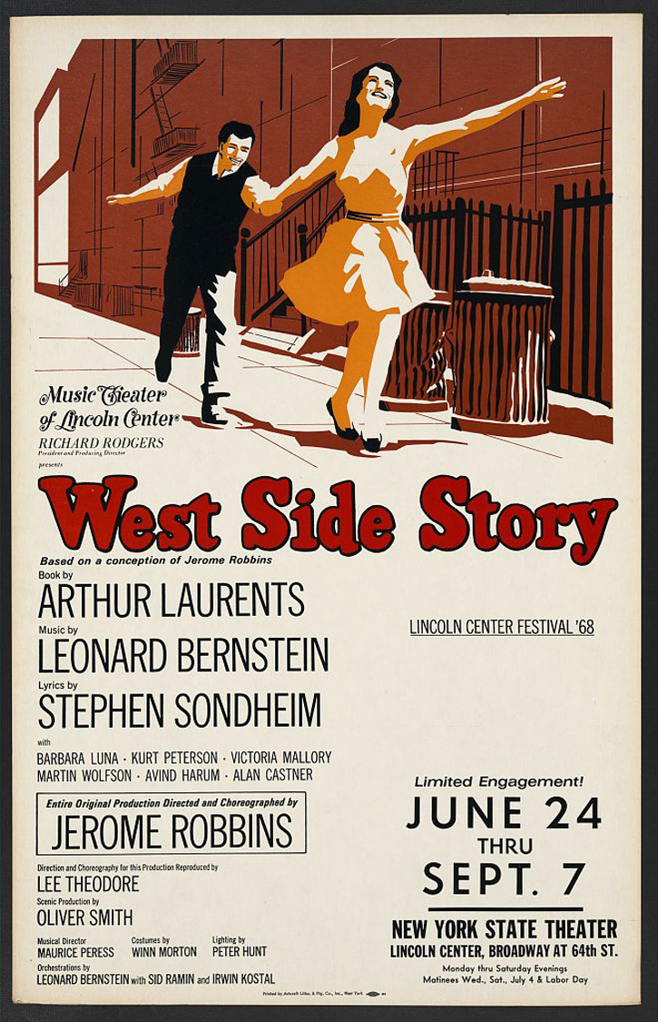 an analysis of the theme of prejudice in the west side story by arthur laurents West side story written by arthur laurents is actually a modern adaptation of shakespeare's romeo and juliet the west side story is set in upper west side manhattan it is about rivalry between two teenage gangs of different backgrounds.