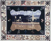 Prize winning quilt by Oregon quilter