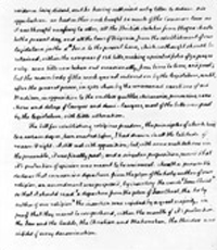 A selection from Jefferson's autobiography where he expresses satisfaction over the Virginia legislature's expression of tolerance in its Bill for Establishing Religious Freedom.