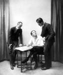 "John Alden Carpenter, Bolm and Robert Edmond Jones collaborate on ""Birthday of the Infanta,"" ca. 1915"
