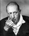 colleague and mentor Igor Stravinsky in a photo inscribed by the composer to Bolm