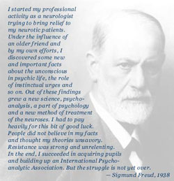 sigmund freud famous research