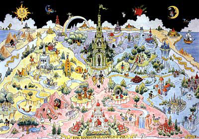 Language of the land september 1999 library of congress the wonderful world of oz 1988 is an extensive map based on l gumiabroncs Choice Image