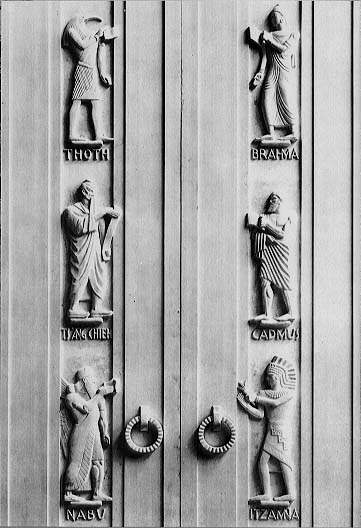 the bronze doors of the Adams Building & The John Adams Building (On These Walls: Inscriptions and ... Pezcame.Com