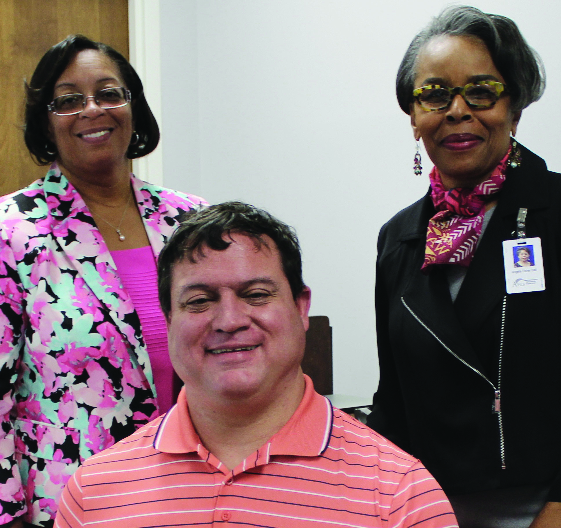 BPH staff members (from left to right) Dorothy Baker, Tim Emmons, and Angela Fisher Hall.