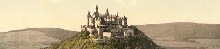Hohenzollern, Germany, ca. 1895.