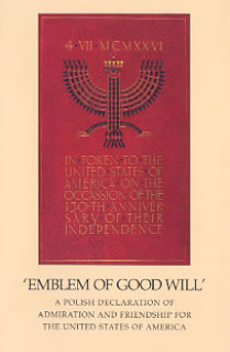Cover of the Emblem of Good Will exhibit catalog, published in 1997