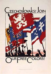 Czechoslovak First World War poster