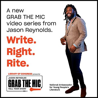 "Write. Right. Rite."" Series - Jason Reynolds, National Ambassador ..."