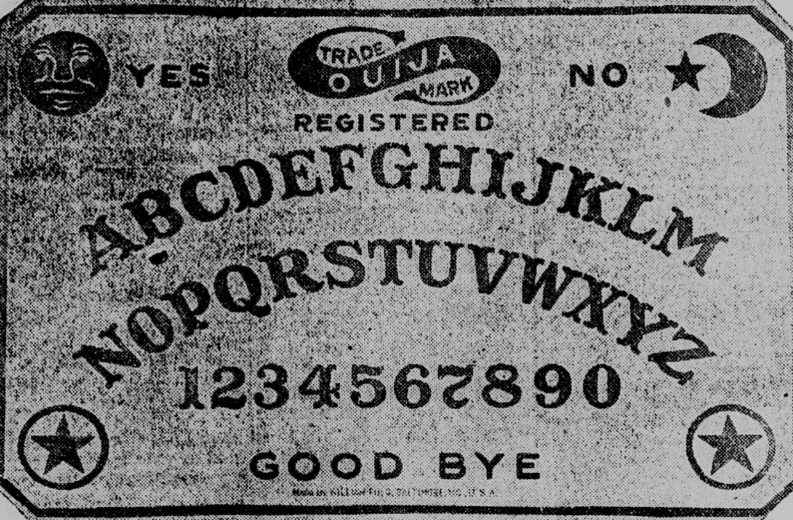 Introduction Ouija Board Topics In Chronicling America Research Guides At Library Of Congress