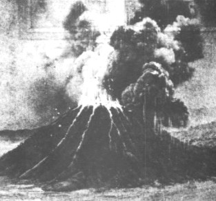 Image result for krakatoa erupts in south pacific