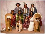 Utes--Chief Sevara [i.e. Severo] and family, LC-USZC4-4168