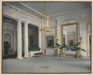 Exceptional Featured Acquisition: Eight Rare Hand Colored Platinum Photographs Of The  Interior Of The White House Part 28
