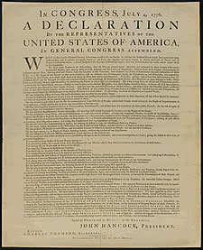 an analysis of the important factors of the declaration of independence of the united states The united states declaration of independence is the statement adopted by the second  the sources and interpretation of the declaration have been the subject of much scholarly inquiry the declaration  this day the congress has passed the most important resolution, that ever was taken in america —john adams.