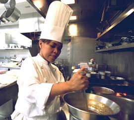 White House Chef Cristeta Comerford