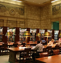 Photo: The Science & Business Reading Room.