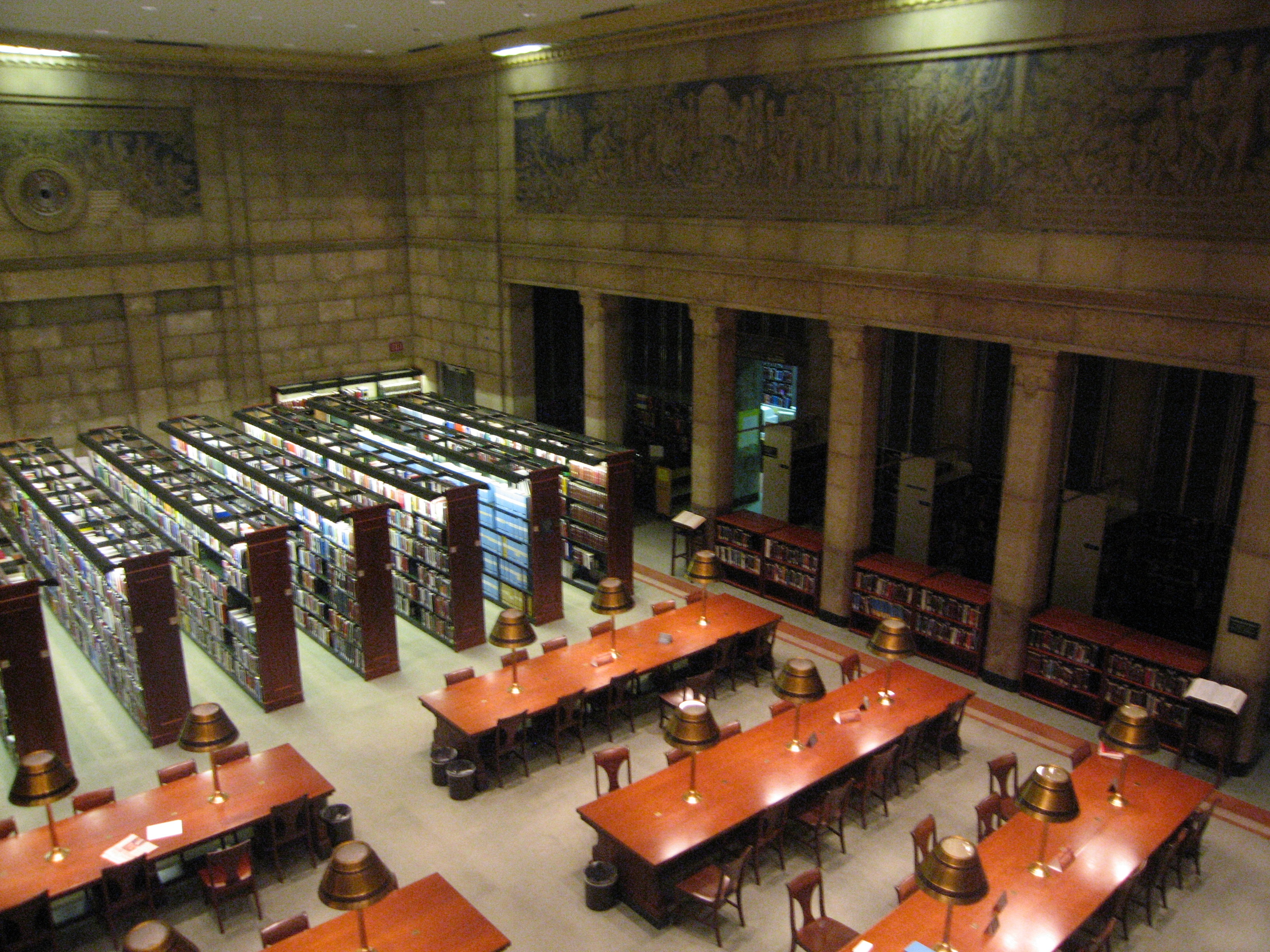 Library Of Congress Science And Business Reading Room