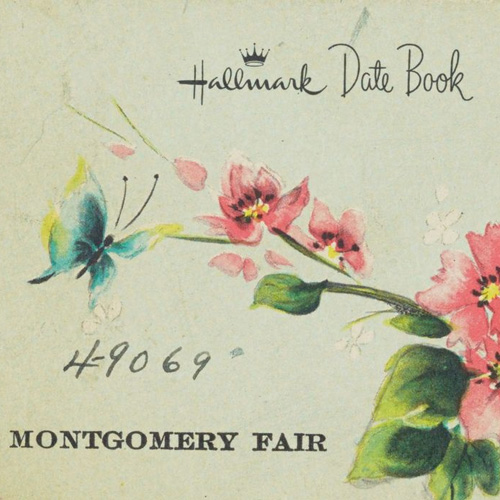 Montgomery Fair date book with Rosa Parks' notes concerning the Montgomery Bus Boycott, 1955–1956. Rosa Parks Papers, Manuscript Division, Library of Congress.