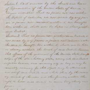 About This Collection   Abraham Lincoln Papers At The Library Of Congress |  Digital Collections | Library Of Congress