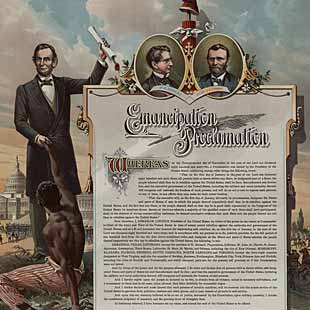 Abraham Lincoln Emancipation Proclamation