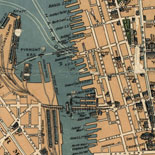 Robinson's aeroplane map of Sydney.