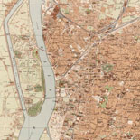 General map of Cairo.