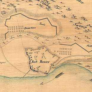 [Plan of Fort Henry and its outworks.]