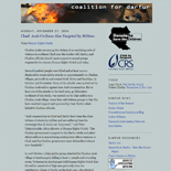 Crisis in Darfur 2006 Web Archive
