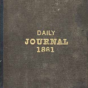 Cover, volume 1, January 1, 1861-April 11, 1862