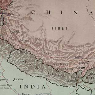 China-India border.