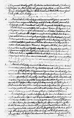 Articles And Essays  George Washington Papers  Digital Collections  Fairfax Resolves Written By George Washington And George Mason On July    At Mount Vernon The Fairfax County Resolves Were Both A Bold  Statement Of
