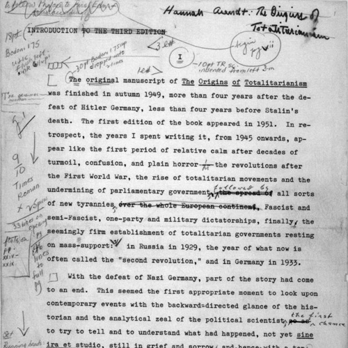 Hannah Arendt Papers