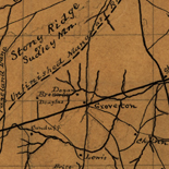 [Sketch of the Manassas battlefield].