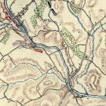 [Map of cavalry engagement near Bridgewater, Va. Oct. 4th and 5th, 1864]