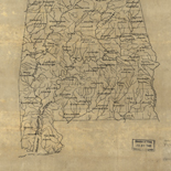 [Base map of Alabama].