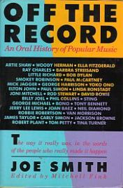 Off the Record book jacket