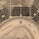 Plan of the city and suburbs of New Orleans: from an actual survey made in 1815