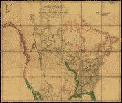 map of early North America