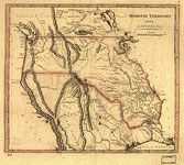 early map of Missouri territory