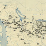[July 3, 1944], HQ Twelfth Army Group situation map.