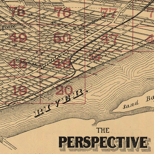 Topographical Survey of St. Louis Missouri - Panoramic Maps - Digital Collections